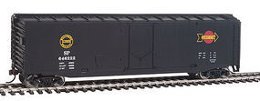 Walthers-Trainline Boxcar Ready to Run Southern Pacific(TM) HO Scale Model Train Freight Car #1407