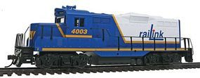 Walthers-Trainline EMD GP9M RailLink #4003 (blue, white, yellow) Model Train Diesel Locomotive HO Scale #141