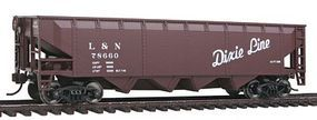 Walthers-Trainline Offset Hopper R2R Louisville & Nashville Model Train Freight Car HO Scale #1421