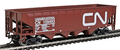 Walthers-Trainline Hopper Ready to Run Canadian National HO Scale Model Train Freight Car #1424
