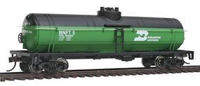 Walthers-Trainline Tank Car Ready To Run Burlington Northern Model Train Freight Car HO Scale #1440