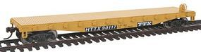 Walthers-Trainline Flatcar Ready to Run TTX Model Train Freight Car HO Scale #1463