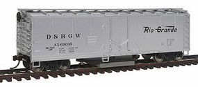 Walthers-Trainline Track Cleaning Boxcar Denver & Rio Grande Western TM Model Train Freight Car HO Scale #1482