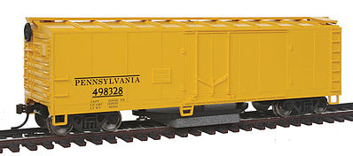 Walthers Trainline Track Cleaning Boxcar Pennsylvania Railroad -- Model Train Freight Car -- HO Scale -- #1483
