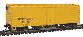 Walthers-Trainline Track Cleaning Boxcar Pennsylvania Railroad Model Train Freight Car HO Scale #1483