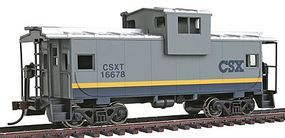 Walthers-Trainline Wide Vision Caboose R2R CSX Transportation Model Train Freight Car HO Scale #1505