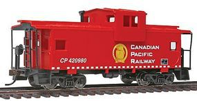 Walthers-Trainline Wide Vision Caboose Canadian Pacific Model Train Freight Car HO Scale #1525