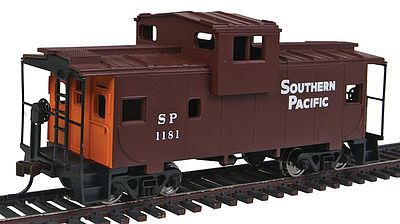 Walthers Trainline Wide Vision Caboose Southern Pacific(TM) -- Model Train Freight Car -- HO Scale -- #1531