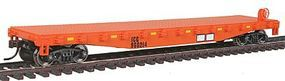 Walthers-Trainline Flatcar Ready to Run Illinois Central Gulf #960214 Model Train Freight Car HO Scale #1606