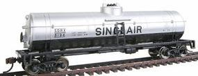 Walthers-Trainline 40' Tank Car Ready to Run Sinclair Oil Model Train Freight Car HO Scale #1611