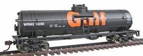 Walthers-Trainline 40' Tank Car Ready to Run Gulf Oil Company Model Train Freight Car HO Scale #1612