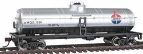 Walthers-Trainline 40' Tank Car Ready to Run Amoco Oil AMOX Model Train Freight Car HO Scale #1613