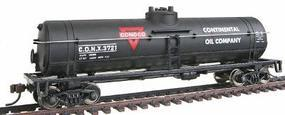 Walthers-Trainline 40 Tank Car Ready to Run Conoco CONX Model Train Freight Car HO Scale #1614