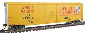 Walthers-Trainline 50 Plug Door Boxcar Ready to Run Union Pacific(R) Model Train Freight Car HO Scale #1672
