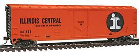 Walthers-Trainline 50 Plug Door Boxcar Illinois Central Model Train Freight Car HO Scale #1678