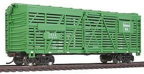 Walthers-Trainline 40 Stock Car R2R Chicago, Burlington & Quincy Model Train Freight Car HO Scale #1685