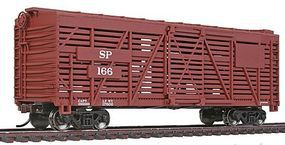Walthers-Trainline 40 Stock Car Ready to Run Southern Pacific(TM) Model Train Freight Car HO Scale #1688