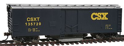 Walthers Trainline Plug Door Track Cleaning Boxcar CSX Transportation -- Model Train Freight Car -- HO Scale -- #1754