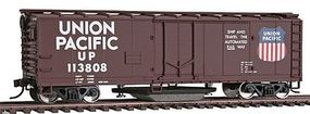 Walthers-Trainline 40 Plug Door Track Cleaning Boxcar Union Pacific(R) Model Train Freight Car HO Scale #1756