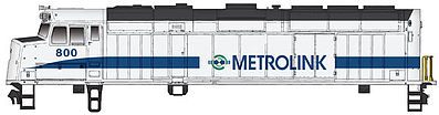 Walthers Trainline EMD F40PH Locomotive Metrolink #800 -- Model Train Diesel Locomotive -- HO Scale -- #403