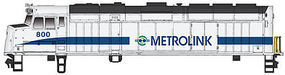 Walthers-Trainline EMD F40PH Locomotive Metrolink #800 Model Train Diesel Locomotive HO Scale #403