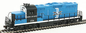 Walthers-Trainline EMD GP9M Standard DC Boston & Maine #1754 HO Scale Model Train Diesel Locomotive #451
