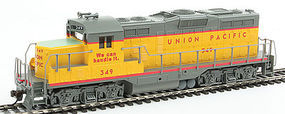 Walthers-Trainline EMD GP9M Standard DC Union Pacific (R) #349 HO Scale Model Train Diesel Locomotive #454