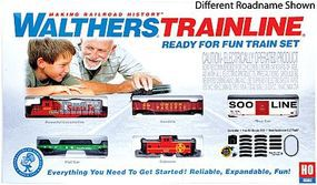 Walthers-Trainline Ready For Fun Train Set Canadian Pacific Model Train Set HO Scale #872