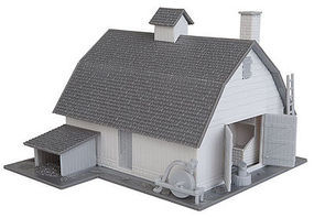 Walthers-Trainline Old Country Barn Kit Model Railroad Building HO Scale #902