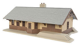 Walthers-Trainline Iron Ridge Station Kit Model Railroad Building HO Scale #904