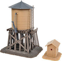 Walthers-Trainline Water Tower and Shanty Kit Model Railroad Building HO Scale #906