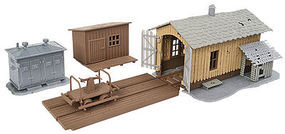 Walthers-Trainline Trackside Tool Buildings Kit Model Railroad Building HO Scale #909