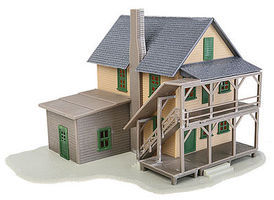 Walthers-Trainline Rooming House Kit HO Scale Model Railroad Building #914