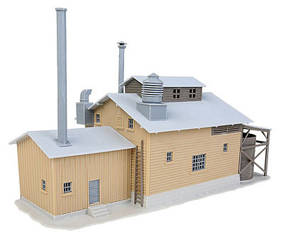 Walthers Trainline Factory Kit -- HO Scale Model Railroad Building -- #917