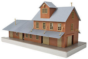 Walthers-Trainline Brick Freight House Kit HO Scale Model Railroad Building #918