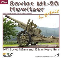 Wings-Wheels Soviet ML20 Howitzer in Detail Authentic Scale Vehicle Book #66