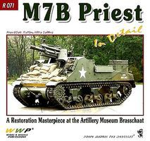Wings-Wheels M7B2 Priest in Detail