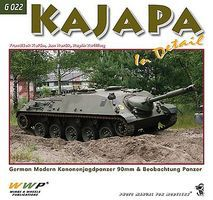 Wings-Wheels KaJaPa (Kanonenjagpanzer) Tank in Detail Authentic Scale Tank Vehicle Book #823