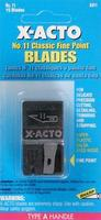 X-acto #11 BLADE DISPENSER 15pk Card