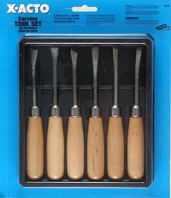 X-acto Carving tool set carded