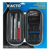 X-acto Basic Knife Set Soft Case