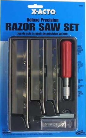 X Acto Razor Saw Knife Set X75310