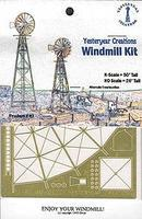 Yesteryear Windmill Kit Etched Brass - N-Scale