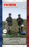 Ykreol French Staff 1940 (42) Plastic Model Military Figure 1/72 Scale #20