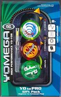Yomega-Yo-Yo Yo-Yo 3pc Gift Set Brain/Fireball/Raider Yo-Yo Toy #1007