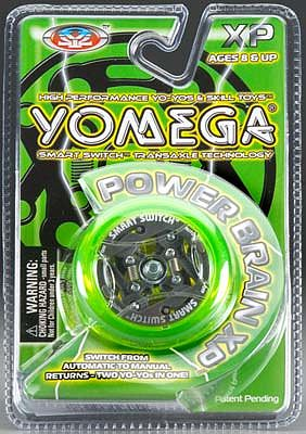 Yomega Yo-Yo's Power Brain XP Smart Switch Yo-Yo -- Yo-Yo Toy -- #808