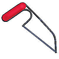 Zona Junior Hacksaw with Plastic Grip Hobby Razor Saw #35680