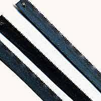 Zona Hack Saw Blade 15 Teeth per inch (3) Hobby Razor Saw Blade #36-656