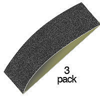 Zona 320 Grit (40mm) Replacement Sanding Strips for #37795 (3/pk)