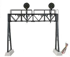 Z-Stuff 2-Track Signal Bridge w/2 Pennsylvania 7-Light Position Light Signal Heads O Scale #1090602
